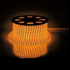 Cветодиодная лента Feron LS707 LED-RL 30SMD(5050)/м 7.2W/м желтый 220V IP65 длина 50м 14x8мм