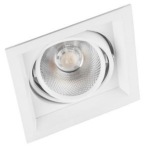 Карданный светодиодный светильник AL201 1x20W 4000К 1800Lm 35° белый