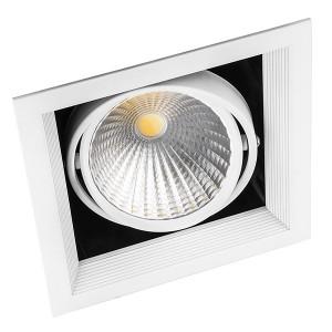 Карданный светодиодный светильник AL211 1x30W 4000K 2700Lm 35° белый