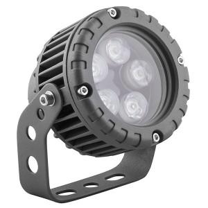 Светодиодный ландшафтно-архитектурный светильник LL-882 D95xH130 IP65 5W 85-265V зеленый/green