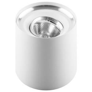 Накладной светодиодный светильник AL515 5W 4000K 30° 400Lm белый поворотный