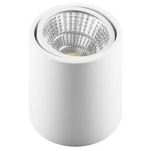 Накладной светодиодный светильник AL516 15W 4000K 30° 1200Lm белый поворотный