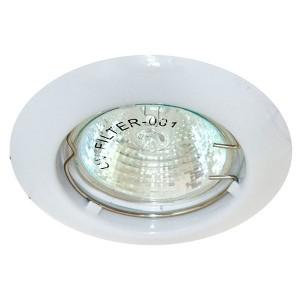Светильник мебельный DL110A MR11 G4/G5.3/GU5.3 белый неповоротный