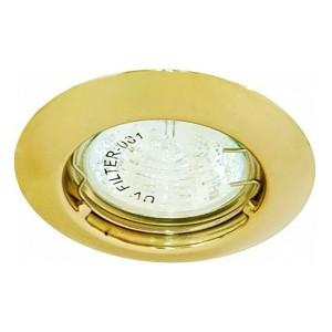 Светильник мебельный DL110A MR11 G4/G5.3/GU5.3 золото неповоротный