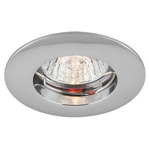 Светильник мебельный DL110A MR11 G4/G5.3/GU5.3 хром неповоротный