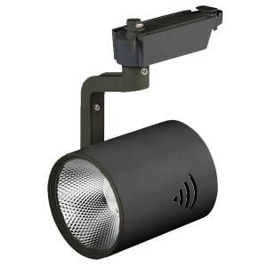 Трековый светодиодный светильникЭРА TR1 - 30 BK 30W черный COB