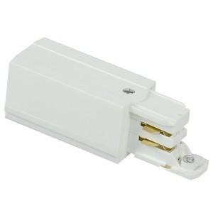 Кабельный ввод левый для трехфазного шинопровода белый IEK