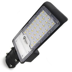 Консольный светодиодный светильник FL-LED Street-01 30W 2700K 3200Lm 230V черный 346x130x53mm