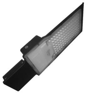 Консольный светодиодный светильник FL-LED Street-01 100W 6500K 10410Lm 230V черный 450x160x65mm