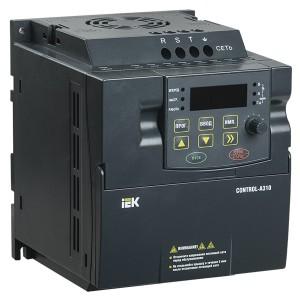 Преобразователь частоты CONTROL-A310 220В, 1Ф 0,75 kW 4A IEK