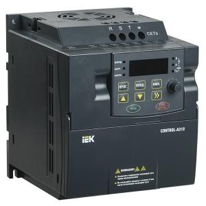 Преобразователь частоты CONTROL-A310 220В, 1Ф 1,5 kW 7A IEK