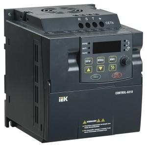 Преобразователь частоты CONTROL-A310 220В, 1Ф 2,2 kW 10A IEK