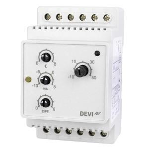 Терморегулятор Devireg 316, -10°C-+50°C с датчиком пола