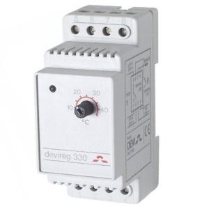 Терморегулятор Devireg 330, +5°C-+45°C с датчиком на проводе