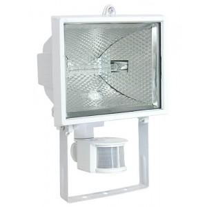Прожектор галогенный с датчиком движения FL-H 500S 500W R7s IP54 белый