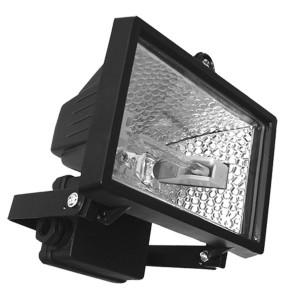 Прожектор галогенный FL-H 150W R7s IP54 черный