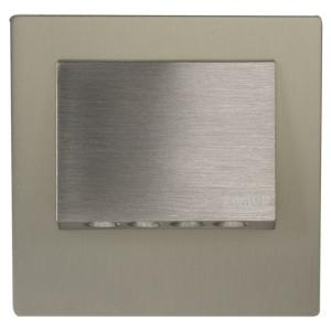Светильник NAVI Сталь, холодный свет, в монтажную коробку, 14V DC