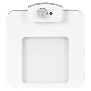 Светильник MOZA Белый, теплый свет, в монтажную коробку, 230V с датчиком движения