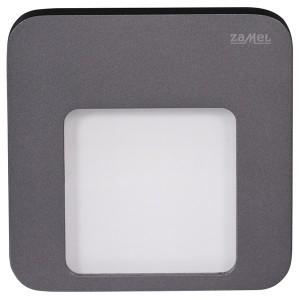 Светильник MOZA Графит, RGB, в монтажную коробку, 230V с встроенным RGB контроллером