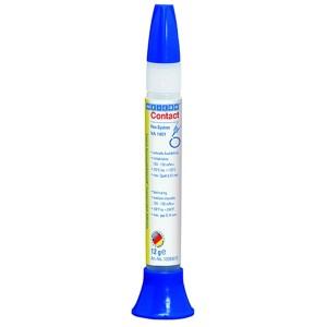 Цианоакрилатный клей Contact VA 1401, вязкость 100-150mPas*s, основа этилат, 12г