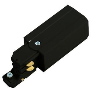 PRO-0431,токоподвод левый для шинопровода,черный ,91242