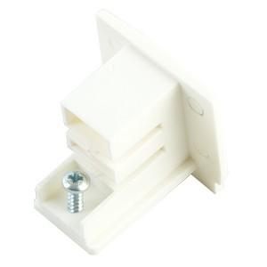 PRO-0432, декоративная заглушка для шинопровода ,белый ,91260