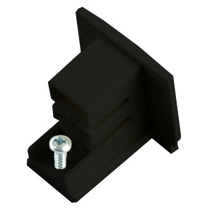 PRO-0432, декоративная заглушка для шинопровода ,черный ,91262
