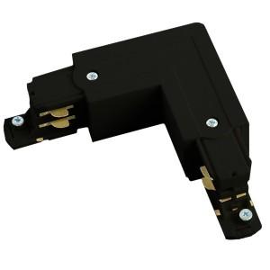 PRO-0435 коннектор угловой левый (внешний) для шинопровода ,черный ,91292