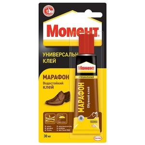 Универсальный клей МАРАФОН Момент 30мл 422987 / 4600611216041