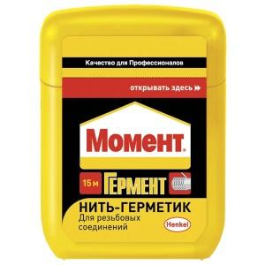 Нить-герметик МОМЕНТ ГЕРМЕНТ 15м 1319575 / 9000100598088