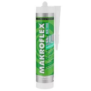Герметик MAKROFLEX NX108 нейтральный силиконовый белый 290мл 2005216 / 4600611218892