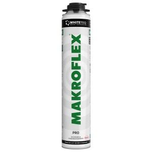 Пена монтажная MAKROFLEX WhiteTeq белая технология профессиональная 750мл 1903607 / 4740008001598