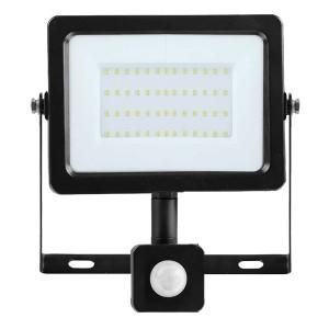 Прожектор светодиодный с датчиком FL-LED Light-PAD SENSOR 100W 4200К 8500Lm AC230V (610041)