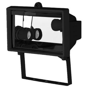 Прожектор FL-2016-1 под лампу 2xE27 черный