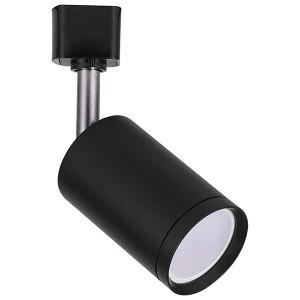 Трековый светильник Feron AL155 под лампу GU10 черный