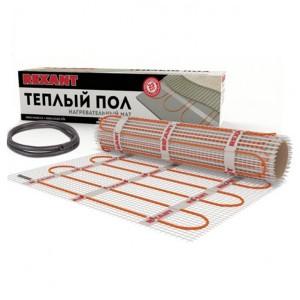Тёплый пол REXANT Extra 160Вт 1,0 м2 под плитку