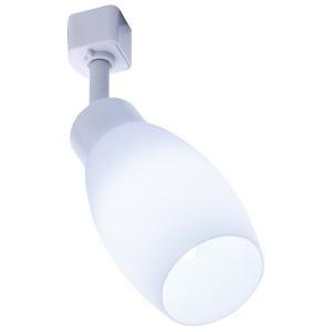 Светильник Feron AL156 трековый на шинопровод под лампу E14, белый
