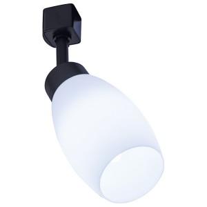 Светильник Feron AL156 трековый на шинопровод под лампу E14, черный