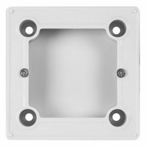 Бокс для  накладного монтажа  электроустановочных изделий BN-01 белый REXANT (совместим с моделями: