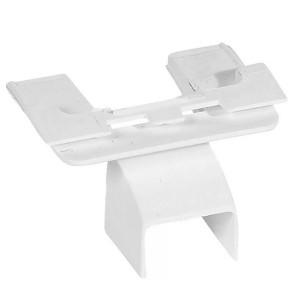 Выдвижной блок для монтажа на торце мини-плинтуса Legrand DLPlus 20x12,5 белый