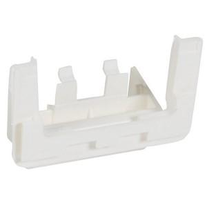 Выдвижной блок для монтажа на торце мини-плинтуса Legrand DLPlus 60x20 белый