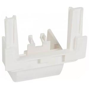 Выдвижной блок для монтажа на торце мини-плинтуса Legrand DLPlus 40x20 белый