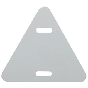 Бирка кабельная маркировочная У-136 треугольник 52х55мм (уп.100шт) ЭРА
