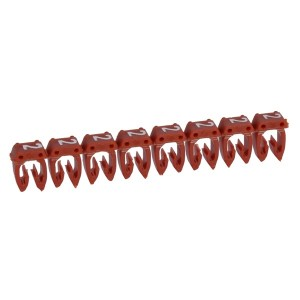 """Маркер для кабеля 0,15/0,5мм2 Legrand CAB3 """"2"""" красный"""