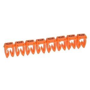 """Маркер для кабеля 0,15/0,5мм2 Legrand CAB3 """"3"""" оранжевый"""