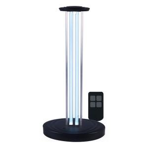 Бактерицидная ультрафиолетовая настольная лампа с пультом ДУ Feron UL362 36W черный 140x198x415mm