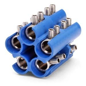 Блок соединительный в полимерном корпусе КСМ 1,5-6 мм2 исполнение1 (КВТ)