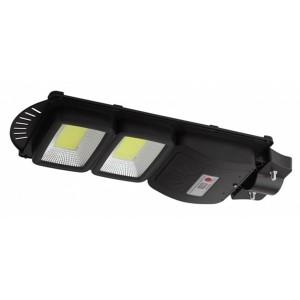 Консольный светильник COB 40W 750lm 5000К IP65 ПДУ на солн. батарее с датчиком движения 003349