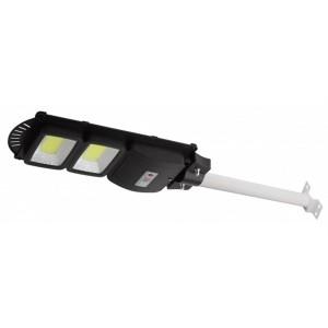 Консольный светильник COB 40W 750lm 5000К IP66 ПДУ на солн. батарее с датчиком движения 003363