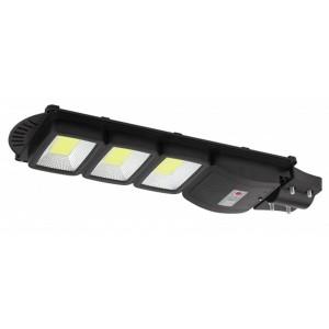 Консольный светильник COB 60W 1100lm 5000К IP65 ПДУ на солн. батарее с датчиком движения 003387
